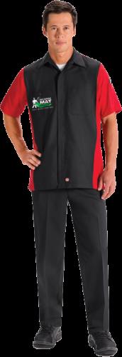 man in executive mat uniform